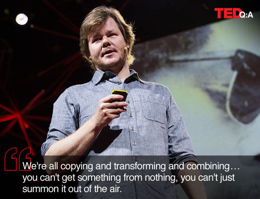 Kirby Ferguson speaks at TEDGlobal 2012
