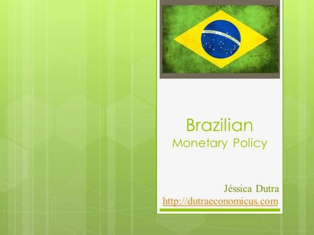 Brazilian Monetary Policy - ARMA andTaylor Rule (VAR)