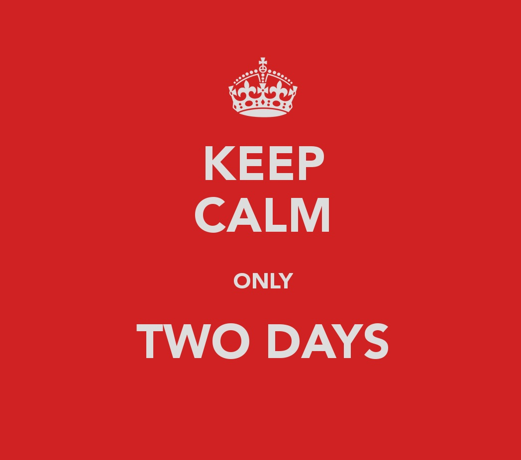 What if life only really has two days… | Dutra economicus