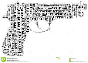 tag-word-cloud-war-terrorism-related-shape-pistol-gun-33694765